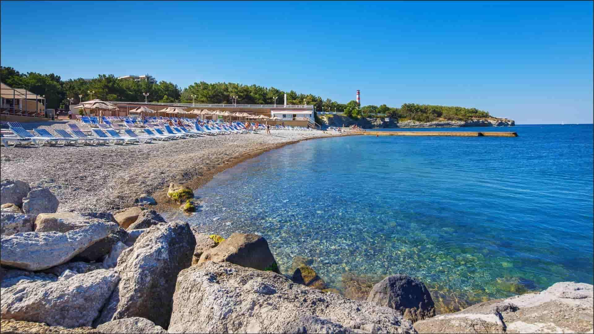 Геленджик отдых фото пляжей отели