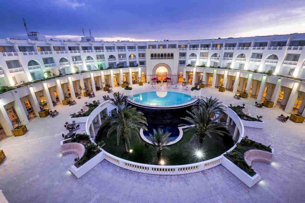 5-звездочный отель в Тунисе medina solaria and thalasso