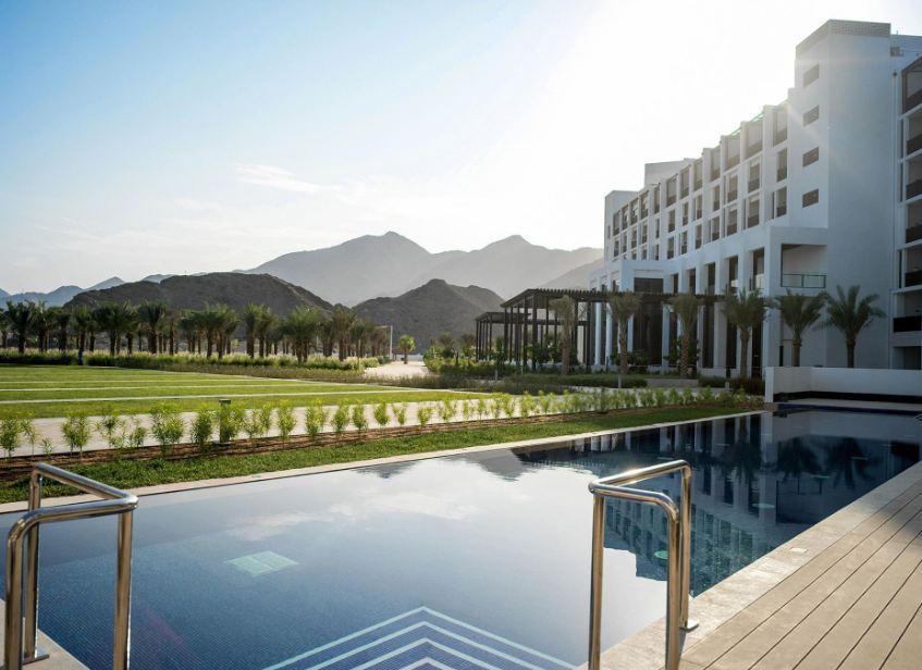 Intercontinental fujairah resort 5 Фуджейра ОАЭ Отзывы фото цены